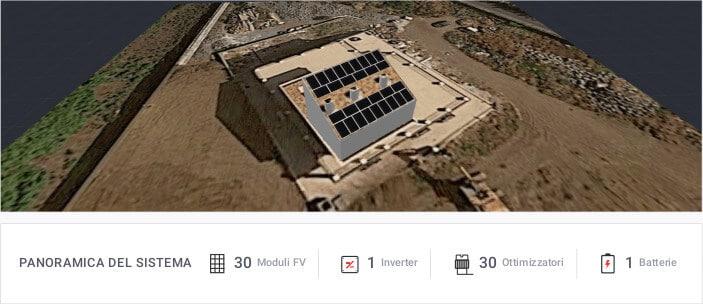 Impianto fotovoltaico da 10 kWh
