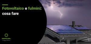 fotovoltaico e fulmini