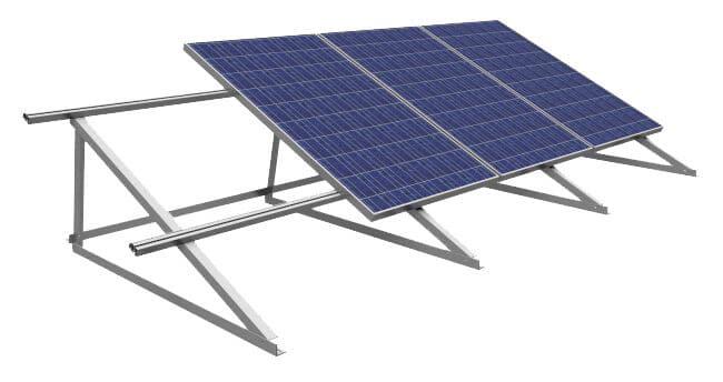 Struttura di sostegno pannelli fotovoltaici