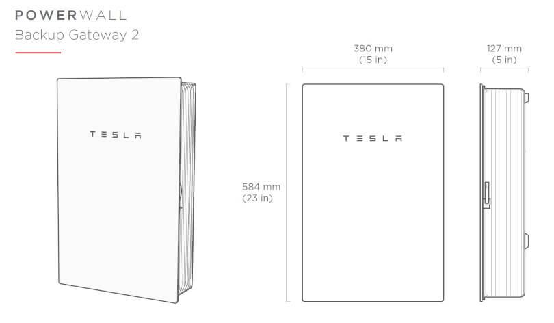 Tesla Powerwall Backup Gateway