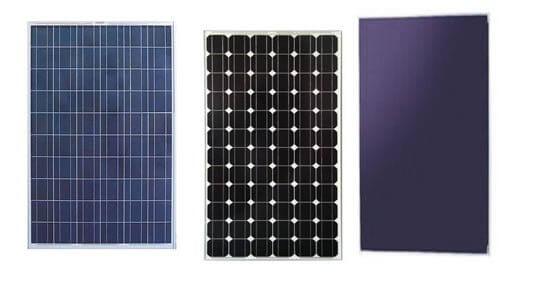 Tipologie di pannelli fotovoltaici