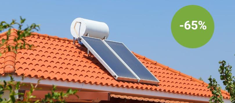 Incentivi solare termico: Ecobonus 65%