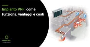 Impianto VRF funzionamento